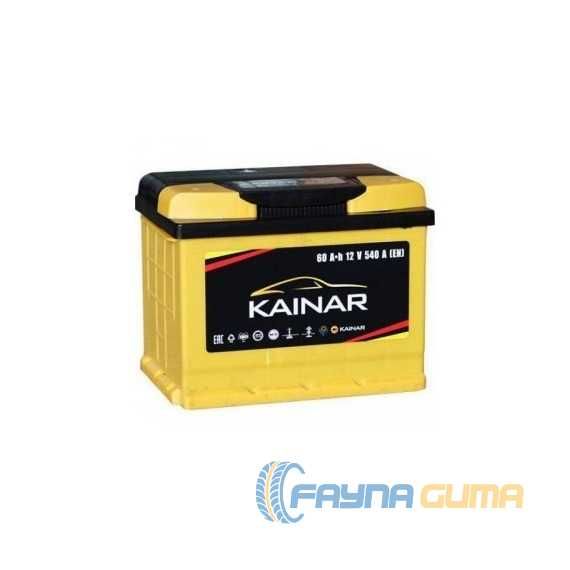 Аккумулятор KAINAR Standart Plus 60Ah-12v -