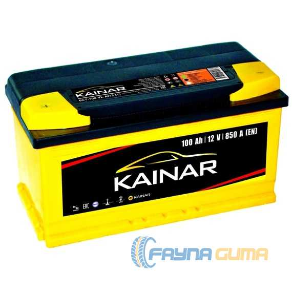 Аккумулятор KAINAR Standart Plus 100Ah-12v -