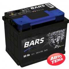 Купить Аккумулятор BARS 6СТ-62 L Plus (пт 550)