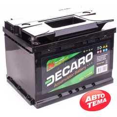 Купить Аккумулятор DECARO START 60Ah-12v (242x175x190),L,EN480