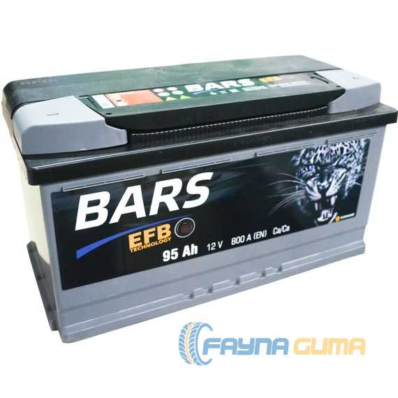 Аккумулятор BARS (EFB) 6СТ-95 -