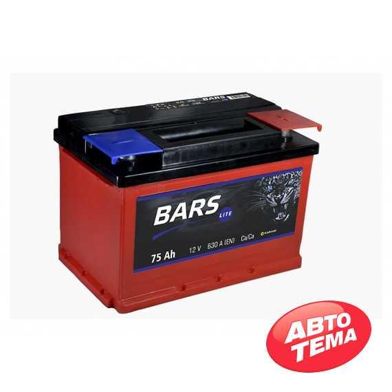 Аккумулятор BARS Lite 6СТ-75 -