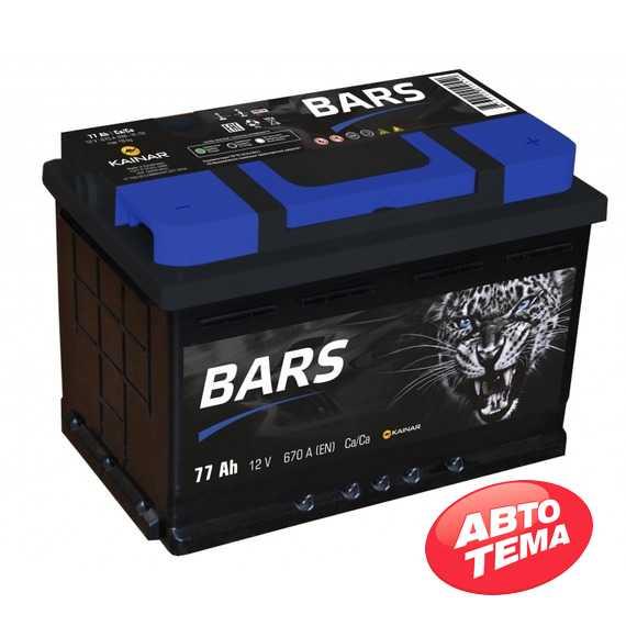 Аккумулятор BARS 6СТ-77 -