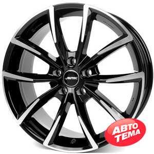 Купить Легковой диск AUTEC Astana Schwarz poliert R18 W8 PCD5x112 ET39 DIA66.5