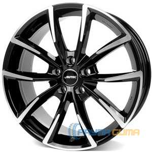 Купить Легковой диск AUTEC Astana Schwarz poliert R20 W9 PCD5x108 ET43 DIA63.3