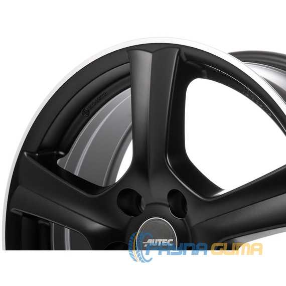 Купить Легковой диск AUTEC Ionik Schwarz matt poliert R16 W6.5 PCD5x114.3 ET40 DIA66.1