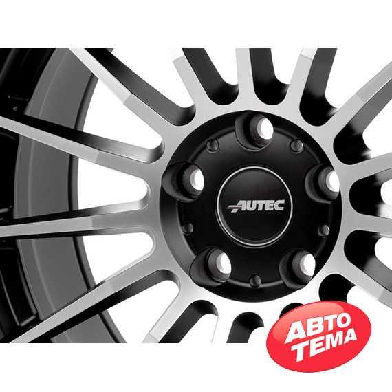Купить Легковой диск AUTEC Lamera Schwarz matt poliert R17 W7.5 PCD5x114.3 ET45 DIA70.1