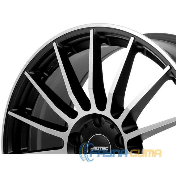 Купить Легковой диск AUTEC Lamera Schwarz matt poliert R18 W8 PCD5x114.3 ET49 DIA70.1