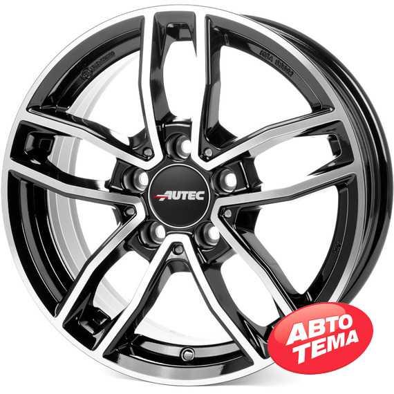 Купить Легковой диск AUTEC Mercador Schwarz poliert R16 W6.5 PCD5x112 ET44 DIA66.5