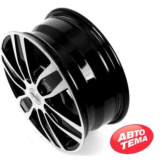 Купить Легковой диск AUTEC Quantro 6 Schwarz poliert R16 W6.5 PCD6x139.7 ET56 DIA92.4