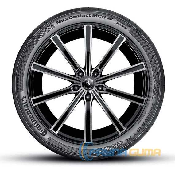 Купить Летняя шина CONTINENTAL MaxContact MC6 275/40R19 105Y