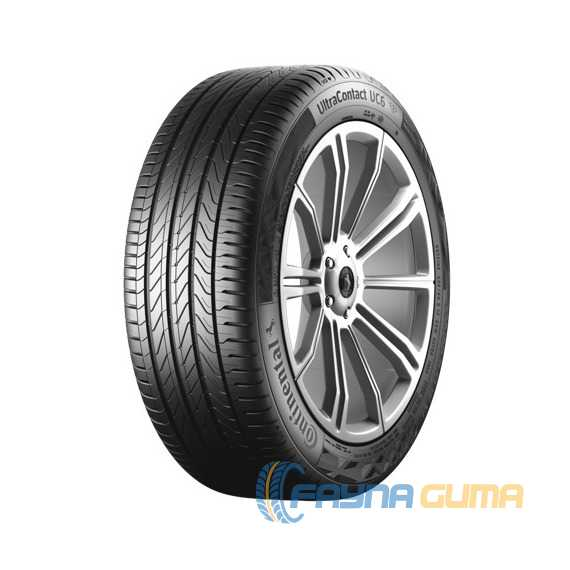 Купить Летняя шина CONTINENTAL UltraContact UC6 245/50R18 100Y