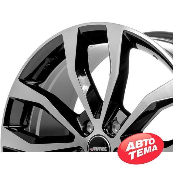 Купить Легковой диск AUTEC Uteca Schwarz poliert R18 W8 PCD5x108 ET45 DIA70.1