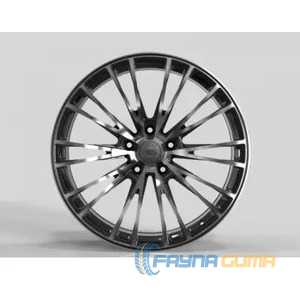 Купить Легковой диск WS FORGED WS2252 GLOSS-BLACK-MACHINED-FACE_FORGED R21 W11 PCD5X130 ET49 DIA71.6